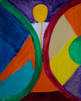 12A-2011-7-BURNING-MAN-16in.X20in.-Acrylic-on-Canvas--