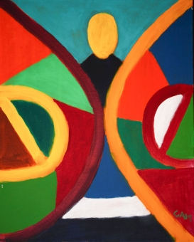3A-3734-198 GREAT WALL-16in.X20in.-Acrylic-on-Canvas