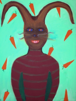 10MM-3723-190-RABBIT-1-18in.X24in.-Acrylic-on-Canvas